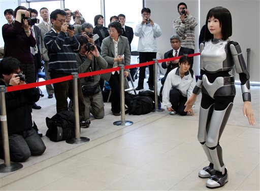 robot modella